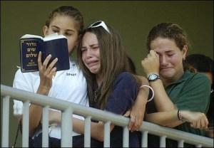 Classmates Pray for Daniel Wultz.