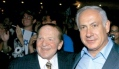 Sheldon Adelson and Benjamin Netanyahu