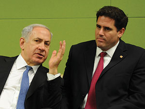 Netanyahu and Dermer