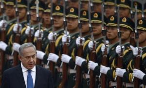 Benjamin Netanyahu on official visit to China